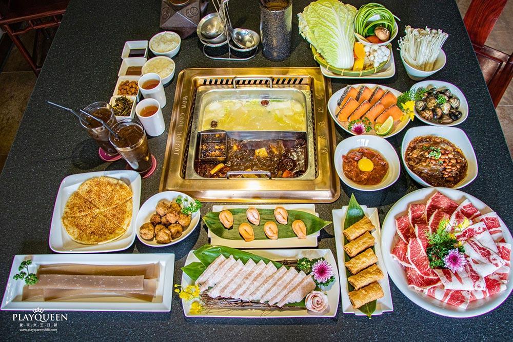 瓦庫麻辣鍋|台中市帝王美食,重慶四川道地麻辣火鍋,皇宮美食尊爵般的美食盛宴!
