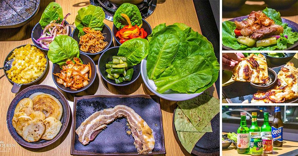 蔡家韓國烤肉Chae's BBQ House,台中正統韓式料理美食,大份量起司燒烤,桌邊現烤服務美味大滿足!