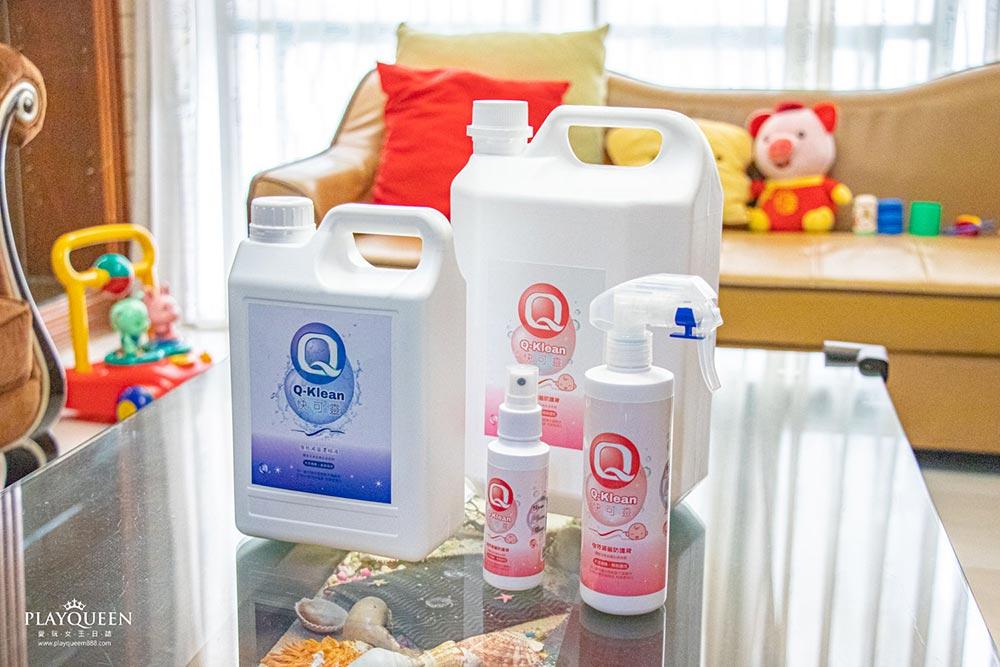 Q-Klean快可靈次氯酸水|強效滅菌防護液,抗菌、消毒、除臭,無毒性、抗腸病毒