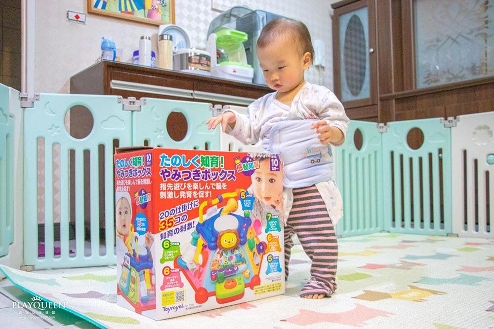 日本樂雅玩具│Toyroyal 多功能益智盒,20種趣味遊戲,6個遊戲場景組合,感官發展手眼協調玩具