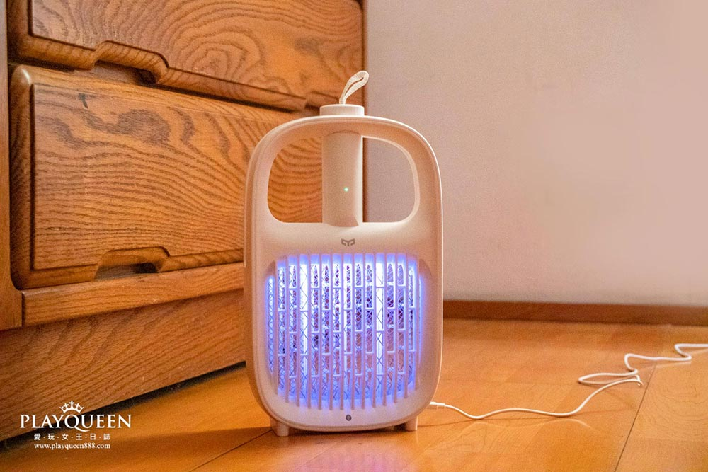 Yeelight 滅蚊燈|捕蚊燈,電蚊拍,智能感光電蚊燈,開箱評價