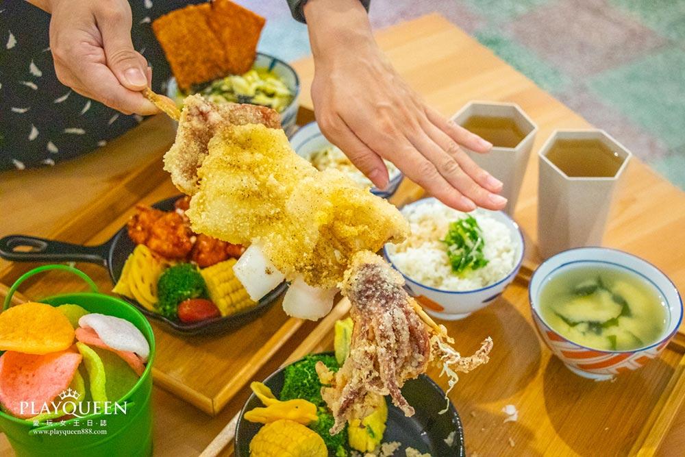 安羽軒食堂│台中北區,超浮誇大份量高CP美食,小菜無限續點,隱藏版日式食堂