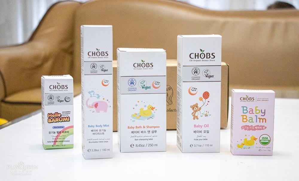 LALAV熱銷世界的天然植萃保養品牌,CHOBS 給寶寶肌膚,從頭到腳的細緻呵護
