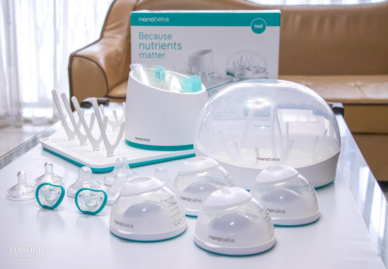 nanobébé新生兒豪華禮盒