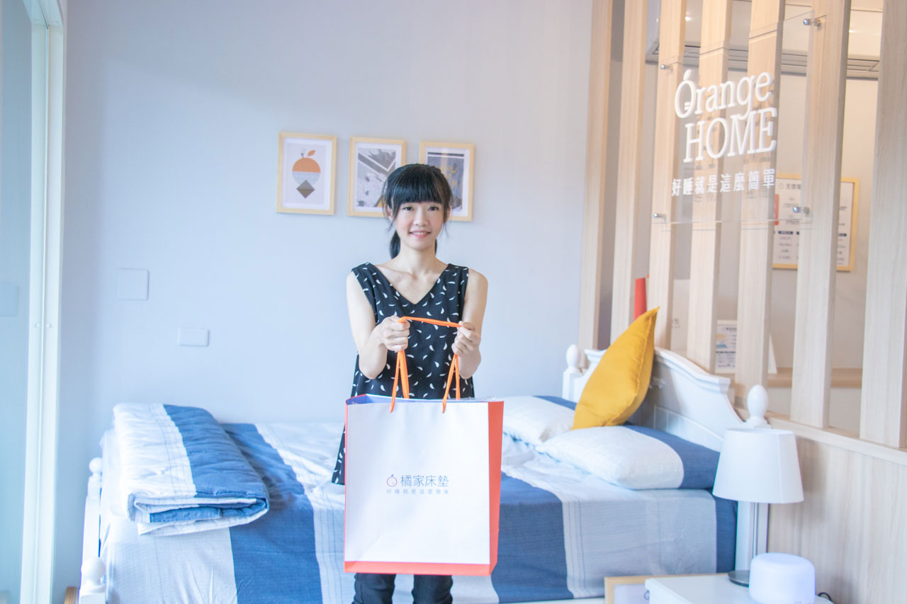 橘家床墊│MIT獨立筒乳膠床墊、獨立筒床墊,奧地利蘭精100%萊賽爾天絲表布,中壢床墊推薦