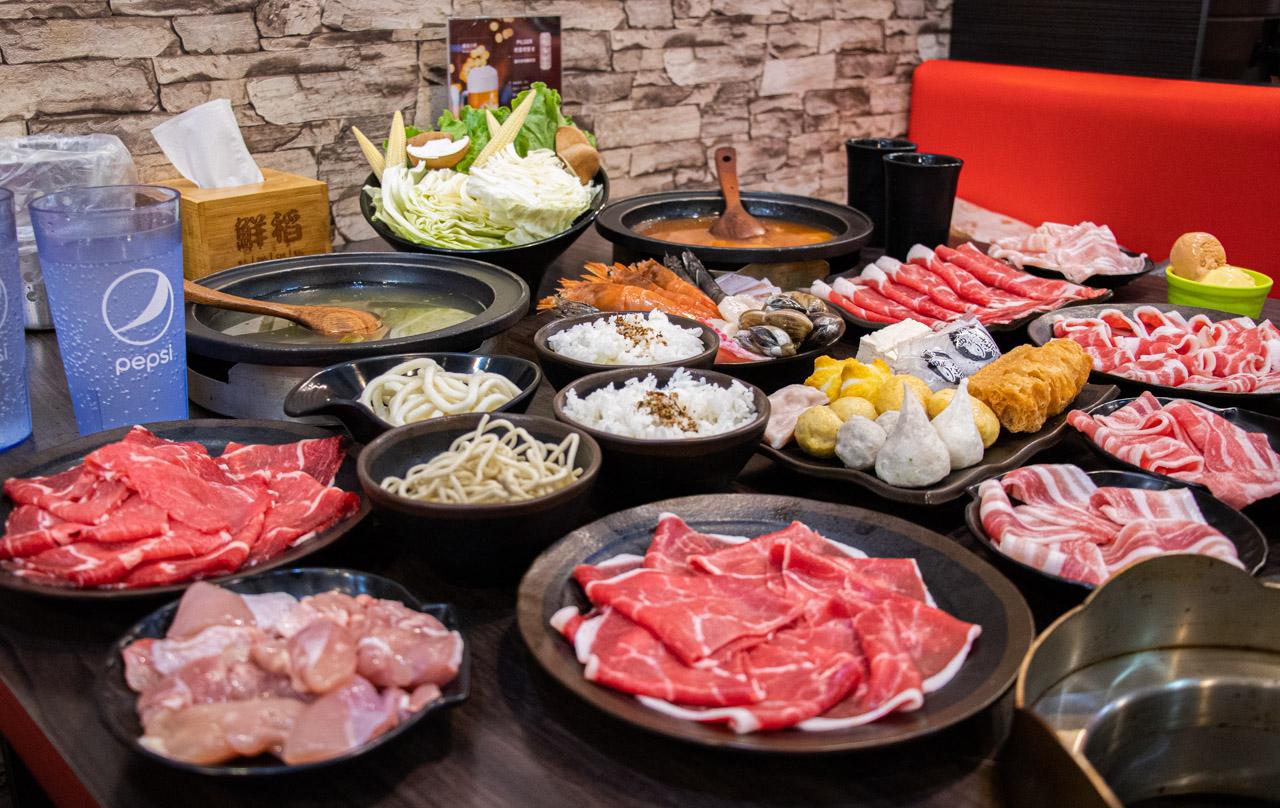 鮮稻精緻鍋物|肉控族必訪、海鮮、飲料自助吧、冰淇淋,新竹火鍋吃到飽推薦