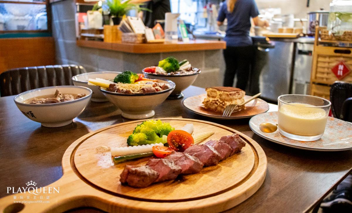 【硬派主廚的軟嫩料理】新竹東門市場美食推薦,五星級舒肥牛肉飯分子料理,新竹東區美食推薦