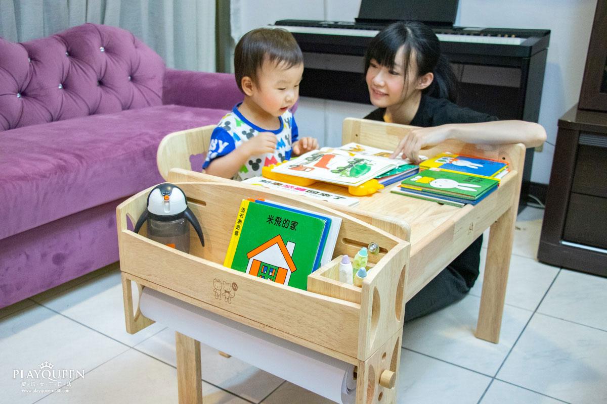 環安傢俱|加大款幼兒成長桌椅組(一桌一椅),30天滿意保證,給寶貝的第一個優質幼兒成長書桌