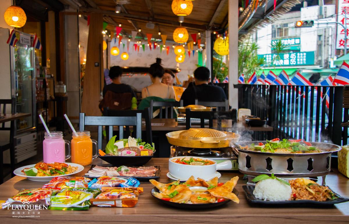 巫泰式燒烤│台中泰式料理推薦,大里忠孝夜市正泰國清邁美食、2021台中美食