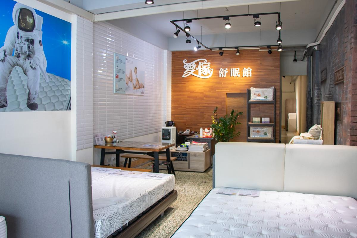 愛傢舒眠館|台中床墊工廠,記憶膠床墊,獨立筒推薦,日本I-COLD冰晶紗,2022台中南屯床墊推薦