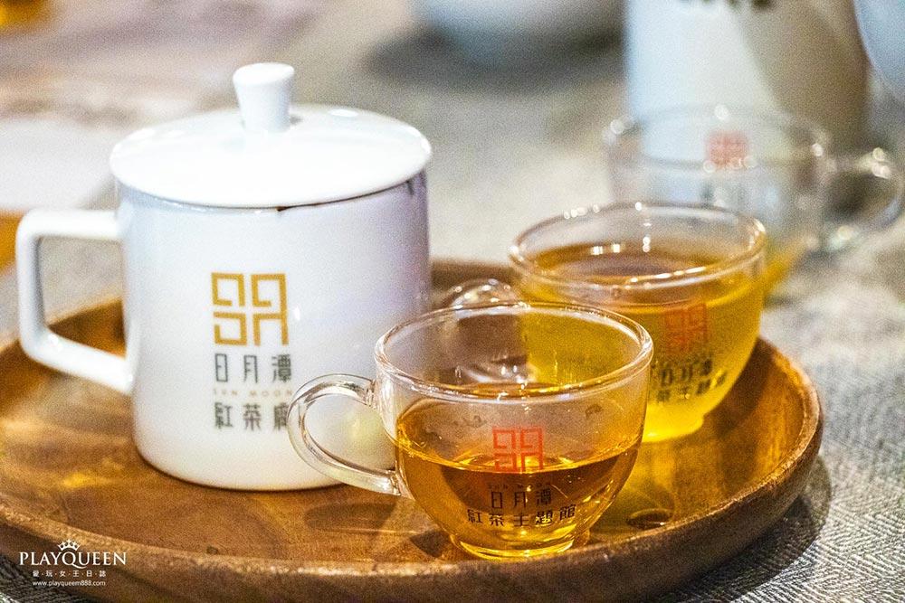 喝喝茶台灣香日月潭紅茶廠